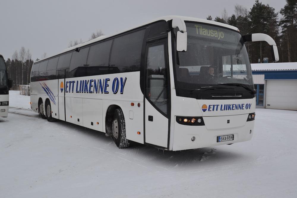 Volvo 9700, S B12B 56 paikkaa