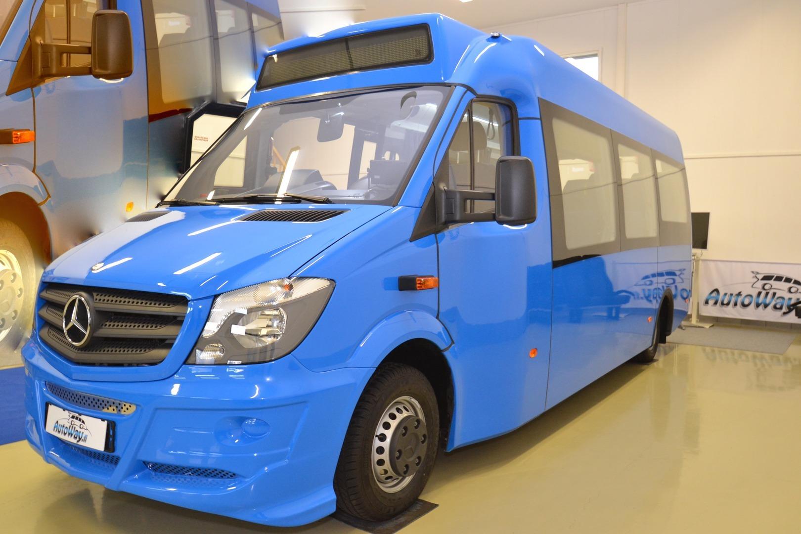 Mercedes-Benz Sprinter, 516 CDI Automet Cityliner Smile