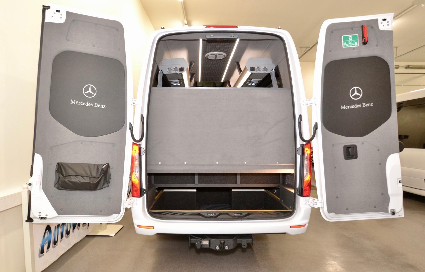Mercedes-Benz SPRINTER 519 CDI, Automet tavaratila